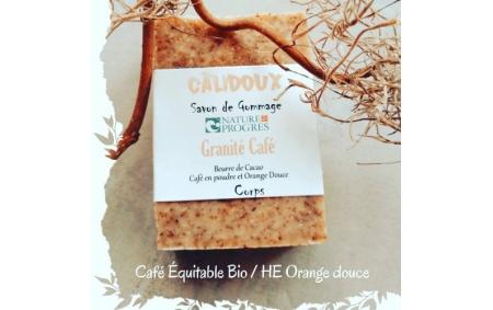 Savon Granité café bio